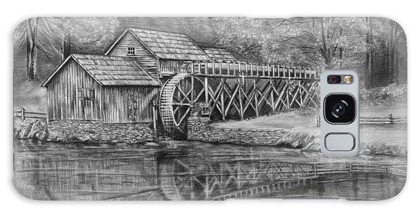 Mabry Mill Pencil Drawing Galaxy Case