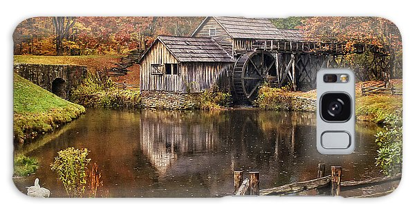 Mabry Mill Galaxy Case by Priscilla Burgers