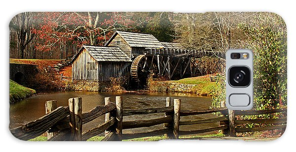 Mabry Mill Galaxy Case by Suzanne Stout
