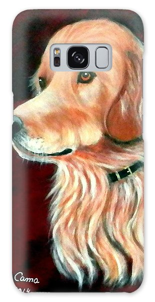 Mac. The Golden Retriever Galaxy Case by Fram Cama