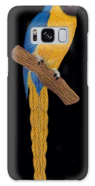 Macaw Parrot Galaxy Case by Walter Colvin