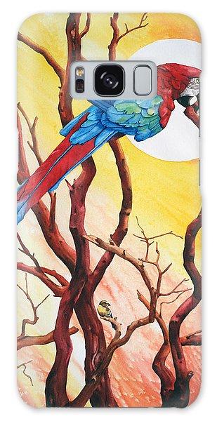 Galaxy Case - Macaw by Zuzana Vass