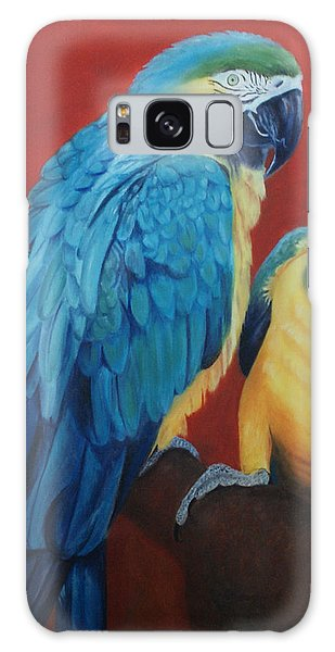 Macaws   Galaxy Case