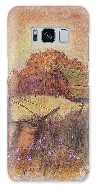 Macgregors Barn Pstl Galaxy Case by Carol Wisniewski