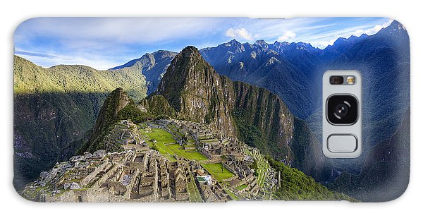 Machu Picchu Galaxy Case by Alexey Stiop