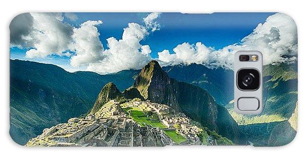 Machu Picchu Galaxy Case by Ulrich Schade