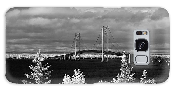 Macinac Bridge - Infrared Galaxy Case