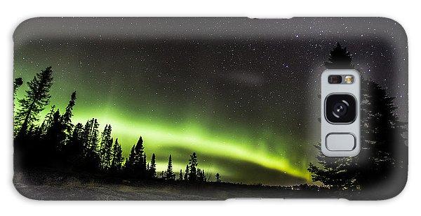 Boreal Forest Galaxy Case - Mackenzie Point Aurora 3 by Jakub Sisak