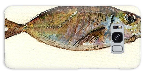 Fish Galaxy S8 Case - Mackerel Scad by Juan  Bosco