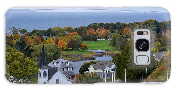 Mackinac Autumn Galaxy Case