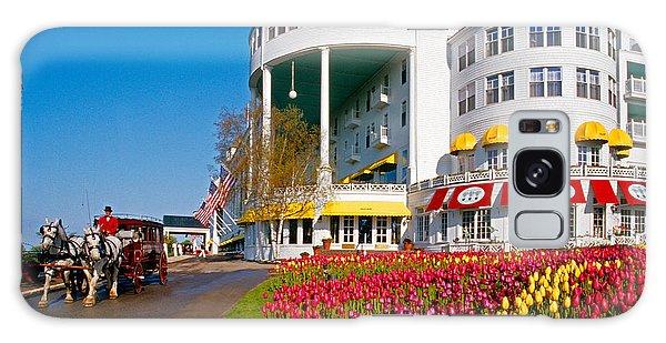 Mackinac Grand Hotel Galaxy Case by Dennis Cox WorldViews