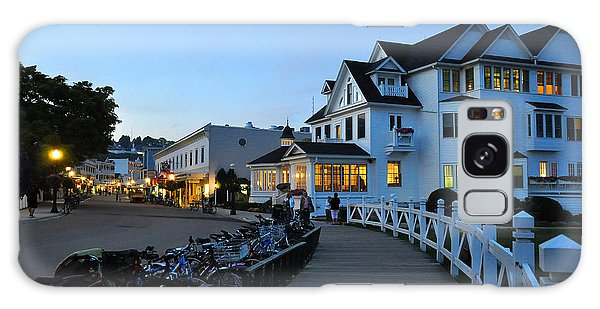 Galaxy Case featuring the photograph Mackinac Island At Dusk by Matthew Chapman