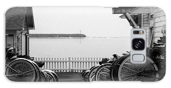 Mackinac Island Bikes Galaxy Case