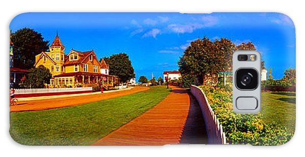 Mackinac Island Flower Garden  Galaxy Case