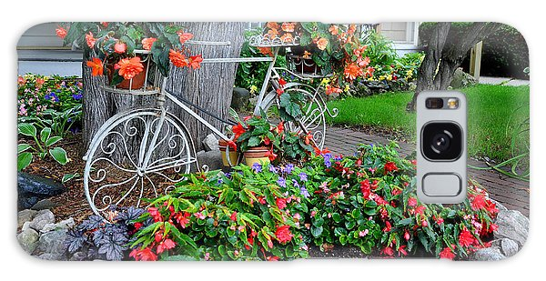 Mackinac Island Garden Galaxy Case