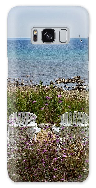 Mackinac View Galaxy Case