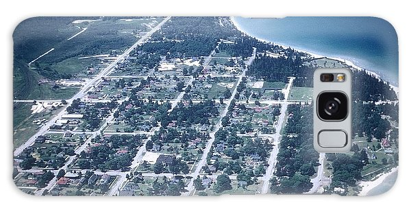 Mackinaw City In The Fifties Galaxy Case