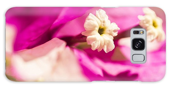 Macro Bougainvillea Bloom 2 Galaxy Case