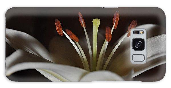 Macro Lily Galaxy Case