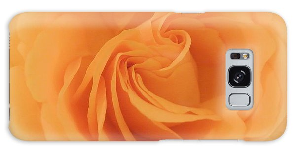 Macro Yellow Rose Galaxy Case by Marsha Heiken