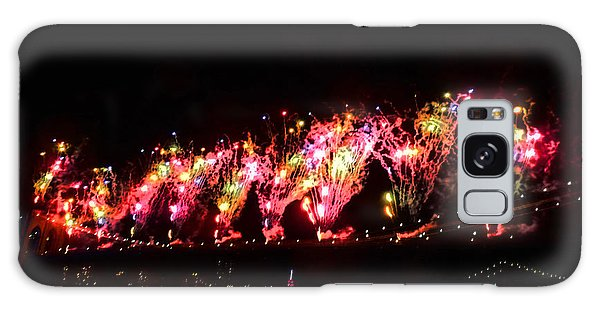 Macy's 2014 Fireworks In New York City Galaxy Case