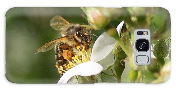 Mad Honeybee Galaxy Case by Lucinda VanVleck