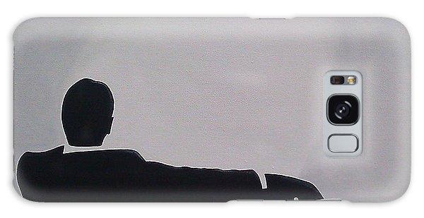 Men Galaxy Case - Mad Men In Silhouette by John Lyes