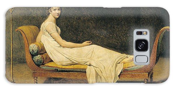 Woman Galaxy Case - Madame Recamier by Jacques Louis David