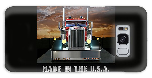 Semis Galaxy Case - Made In The U.s.a. Custom Peterbilt by Stuart Swartz