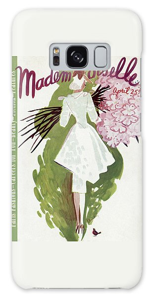 Mademoiselle Cover Featuring A Woman Carrying Galaxy Case