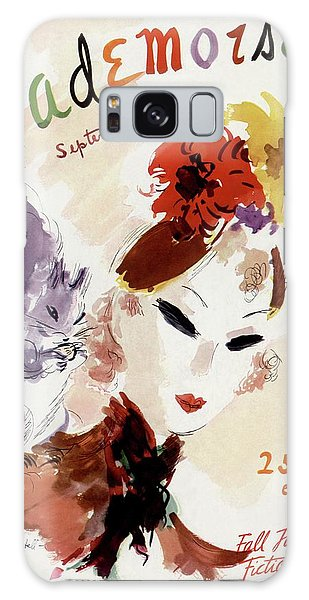 Mademoiselle Cover Featuring A Woman Galaxy Case