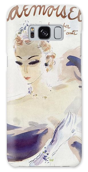 Mademoiselle Cover Featuring A Woman In A Gown Galaxy Case