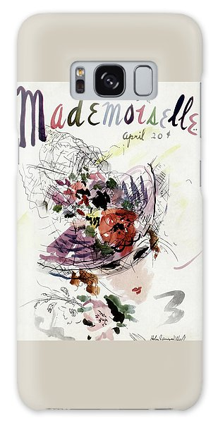 Mademoiselle Cover Featuring An Illustration Galaxy Case