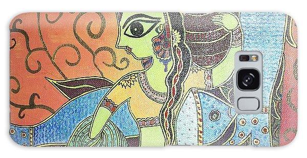 Madhubani Galaxy Case - Madhubani - Mermaid by Remya Damodaran