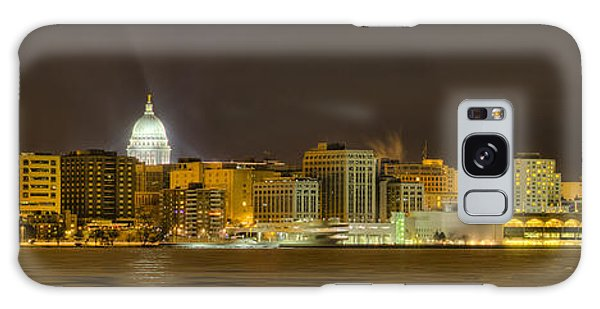 Madison - Wisconsin City  Panorama - No Fireworks Galaxy Case