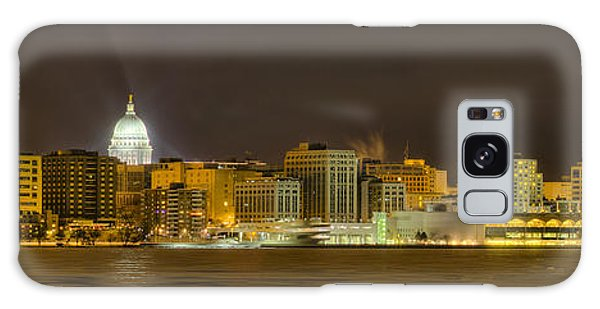 Madison - Wisconsin City  Panorama - No Fireworks Galaxy Case by Steven Ralser