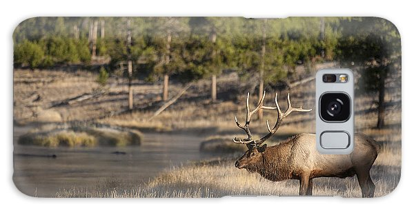 Madison River Elk Galaxy Case