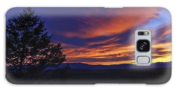 Madison River Sunset Galaxy Case