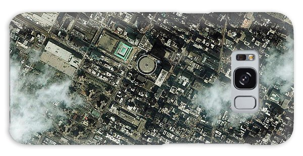 Town Square Galaxy Case - Madison Square Gardens by Geoeye/science Photo Library