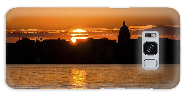 Madison Sunset Galaxy Case by Steven Ralser
