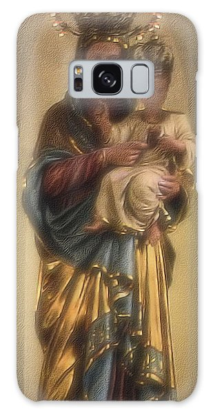 Madonna And Child Galaxy Case