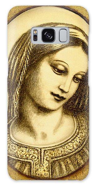 Madonna Face  Galaxy Case by Ananda Vdovic