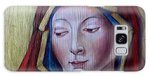 Madonna Of Peace Galaxy Case