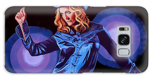 Cd Galaxy Case - Madonna Painting by Paul Meijering