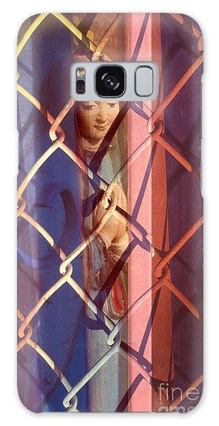 Madonna Photograph - The Virgin Galaxy Case
