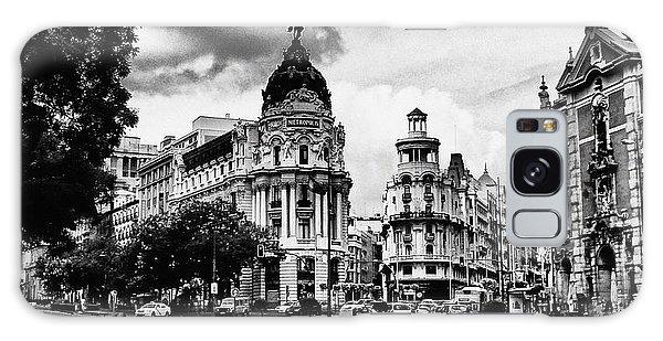Madrid Metropolis Bw Galaxy Case