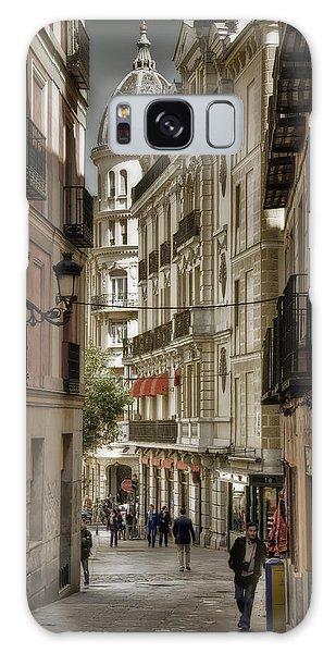 Madrid Streets Galaxy Case by Joan Carroll