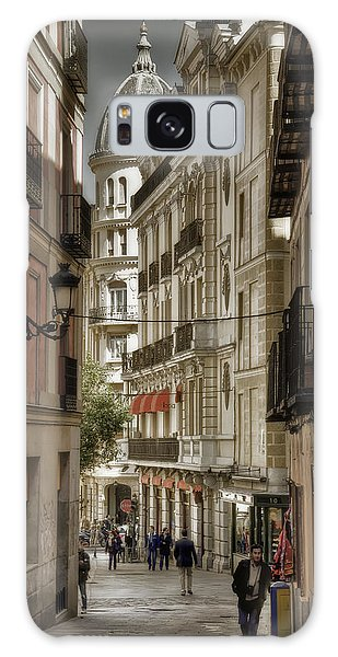 Galaxy Case featuring the photograph Madrid Streets by Joan Carroll