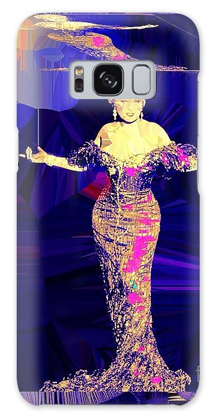 Mae West. Ladies Embrace Your Curves Galaxy Case