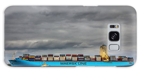 Maersk Container Ship. Galaxy Case